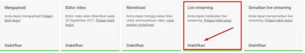 Cara Streaming di Youtube lewat HP