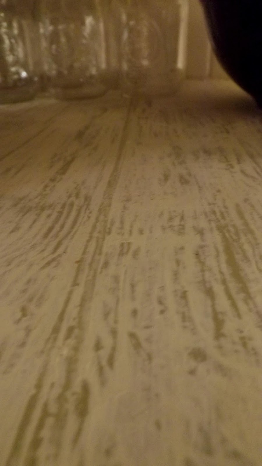 Countertop Paint Wood : immediately after painting a small area i used the wood rocker wood ...