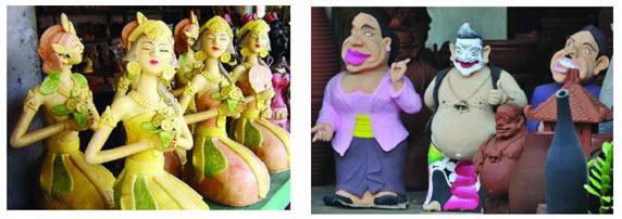 Di sentra kerajinan gerabah Kasongan kita dapat menemukan ratusan bahkan ribuan keramik d Langkah-langkah Membuat Patung Nusantara