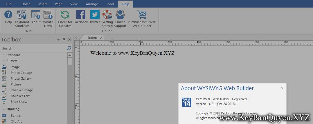 WYSIWYG Web Builder v14.2.1 Full Key, Phần mềm tạo trang Web dễ dàng và chuyên nghiệp