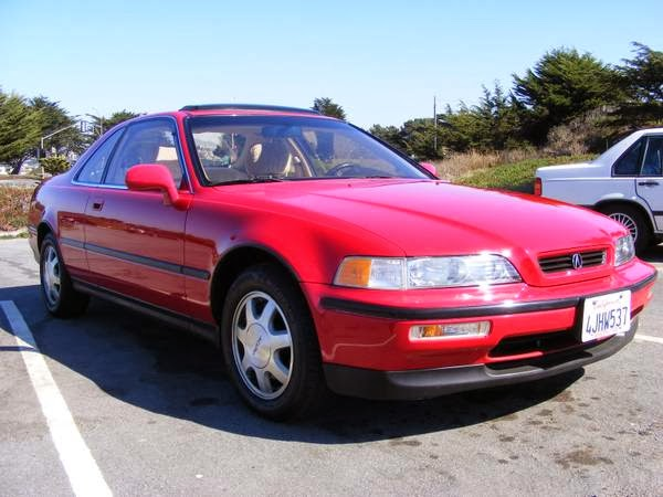 Just A Car Geek 1992 Acura Legend Coupe
