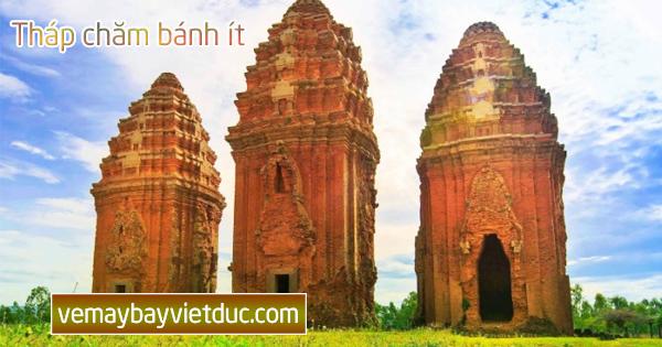 Mua vé đi Quy Nhơn đến Tháp Chăm bánh ít Bình Định