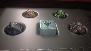 4 spin down dice, Special Edition Planar Die