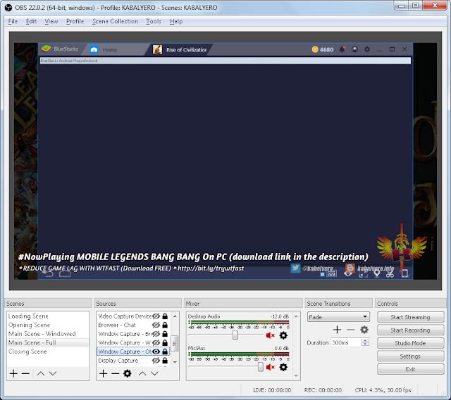 OBS Not Capturing Bluestacks 4, Displays A Blank Screen - KABALYERO