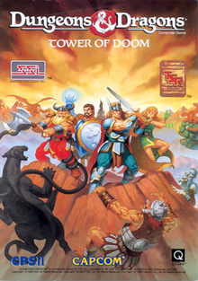 Dungeons & Dragons: Tower of Doom ( Arcade )