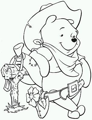 Banco De Imagenes Y Fotos Gratis Dibujos De Winnie Pooh Para Pintar