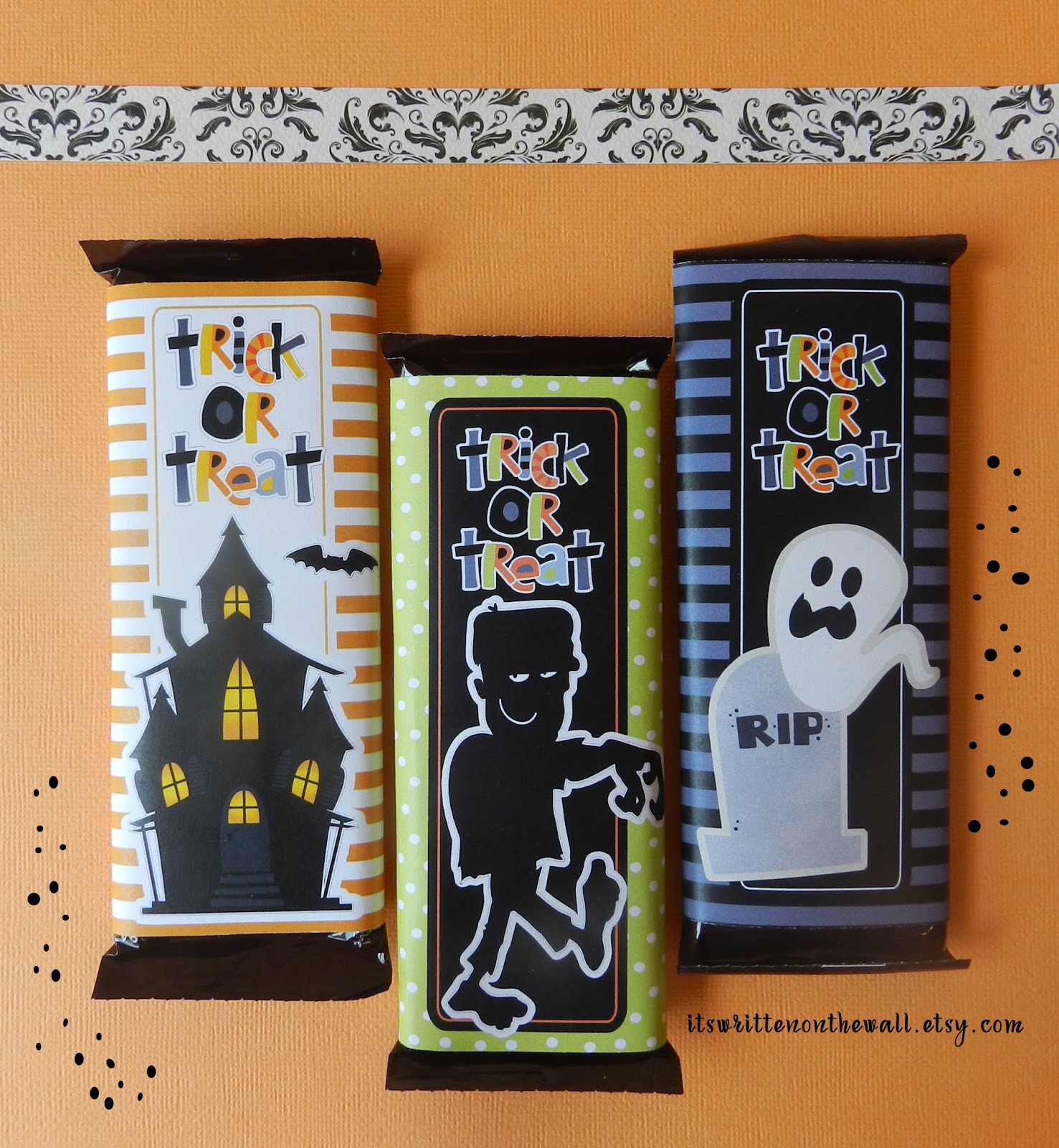 It's Written on the Wall: Wrap your Halloween Candy with FUN-6 ...