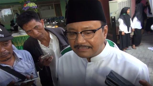 Gus Ipul Minta Ansor dan Banser Hentikan Tolak Ustaz Abdul Somad