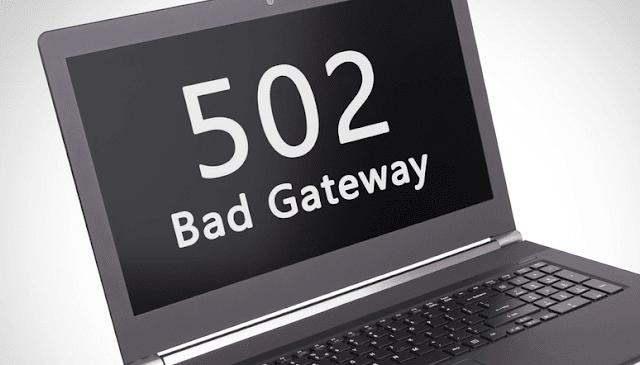 Kesalahan 502 Bad Gateway