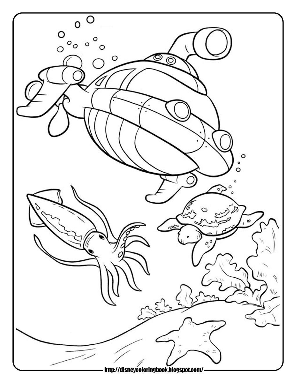 Little Einsteins Rocket Ship Coloring Page | Coloring Pages