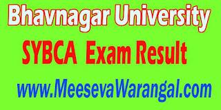 Bhavnagar University SYBCA Final (501-914) 2016 Exam Result