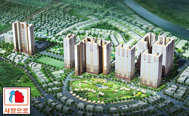 Toàn cảnh dự án Booyoung Vina Mỗ Lao