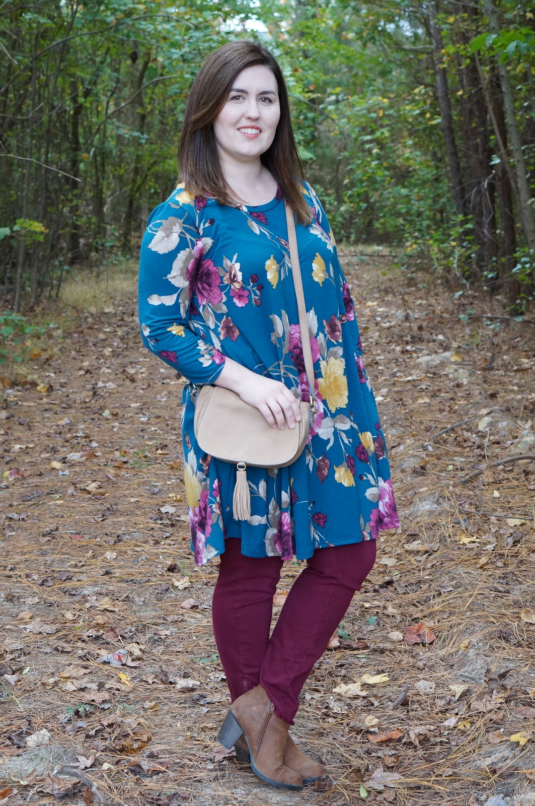 Rebecca Lately Styling a Dress With Pants Chic Soul Fall Style