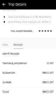 Pengalaman Naik UberX Malaysia
