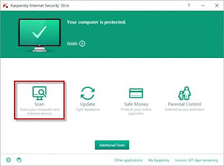برنامج كاسبر سكاى Kaspersky Internet Security 2017