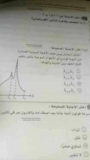 حمل نموذج اجابه امتحان الفيزياء للصف الثالث الثانوي ،2018 اجابات بوكليت الفيزياء الفعلى للثانوية العامة physics.answers