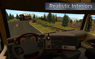 Euro Truck Driver Apk v1.0.0 (Mod Money)-screenshot-2