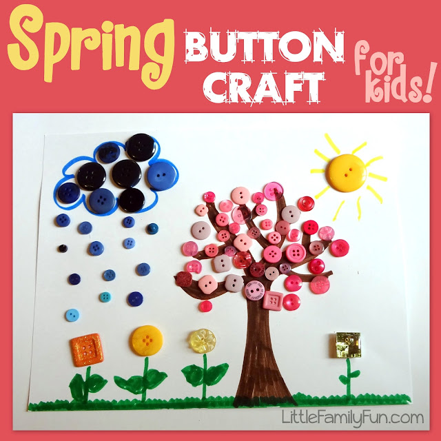 spring button craft