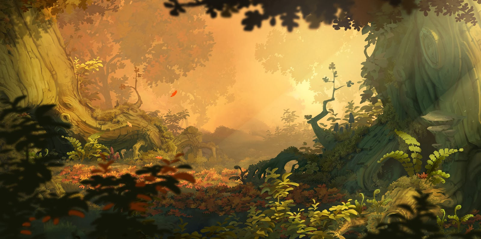 Visual Development : RAYMAN LEGENDS