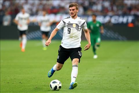 Timo Werner tin Đức vẫn có thể vô địch World Cup 2018