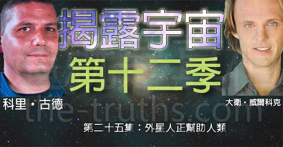 揭露宇宙:第十二季第二十五集:外星人正幫助人類