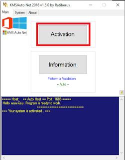 โปรแกรม Activate Windows 10 Office 2016 ใหม่ล่าสุด