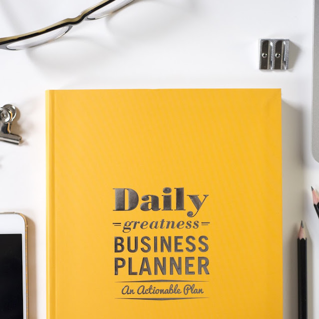 Business Daily Planner Template for Small business Owners