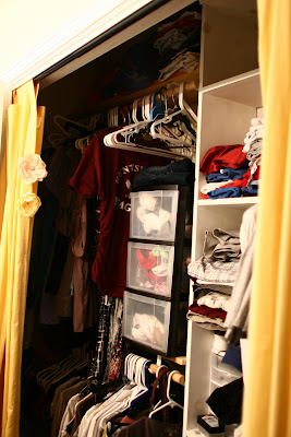Remodelaholic   Master Bedroom Closet Before and After ...
