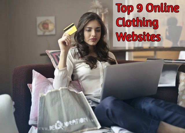 9 Best Online Clothing Websites Stores At Best Price