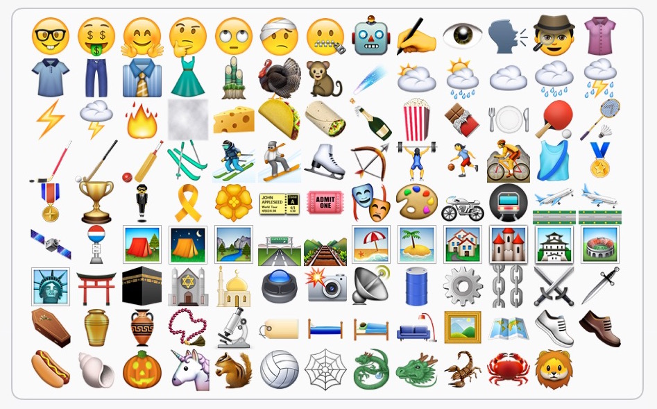 Novos emojis no iOS 9.1 beta 1