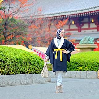 Model Baju Kimono 2016