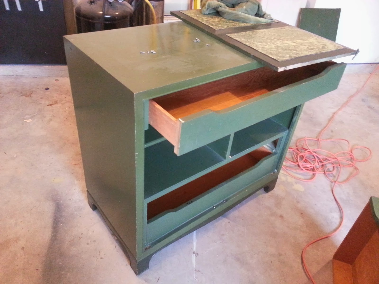Aside From Wanting A Cabinet So That I Could Make Room In My Kitchen Cabinets Wanted To Give Chalk Paint Try It Seems Be Very Por The Diy