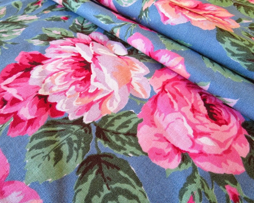 Cottage Nest Crafting A Handmade Life Featured Friday Fabric Coming Up Roses