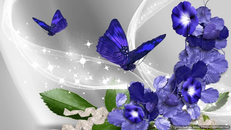 Blue Flower HD Wallpaper | Free Hd Wallpaper