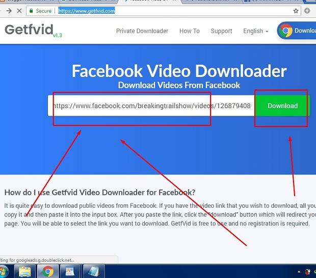 Cara Simpan Video Dari Fb Dengan Aplikasi Getfvid Terbaru 2019