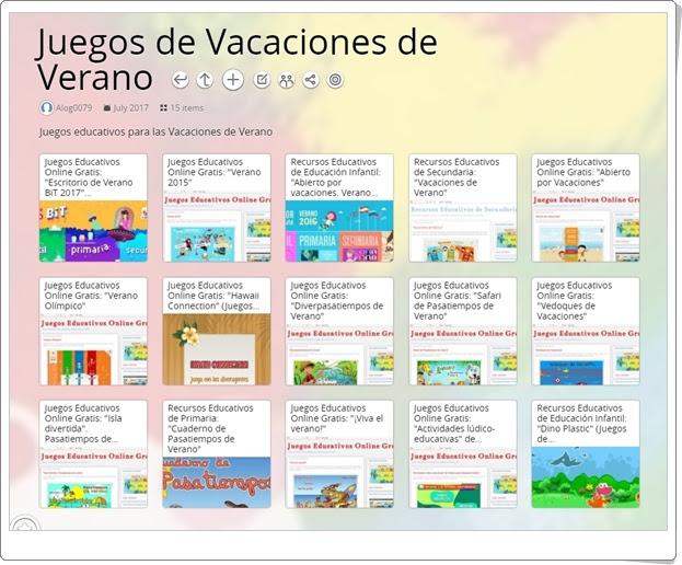 """""""Juegos Educativos de Vacaciones de Verano"""" (Colección)"""
