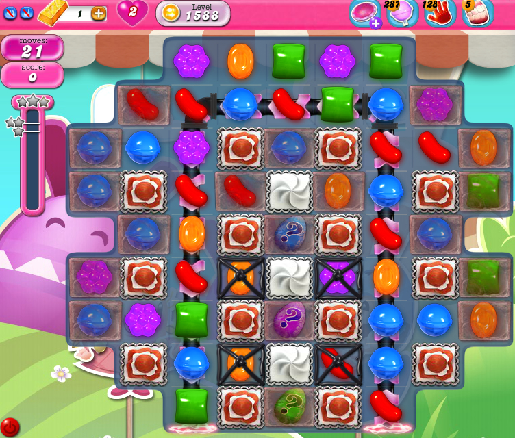 Candy Crush Saga 1588