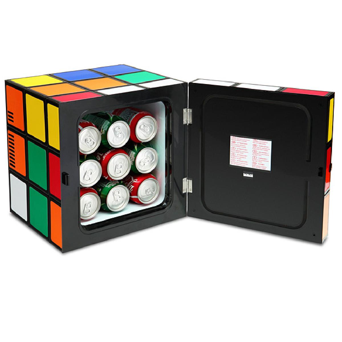 Le frigo en forme de Rubik's Cube