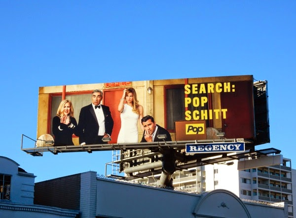 Schitt's Creek Search Pop Schitt teaser billboard