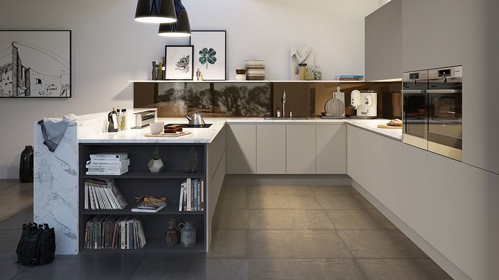 black kitchen contemporary ideas