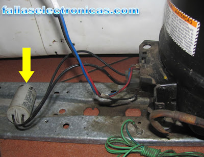 capacitor de nevera bosch no frost