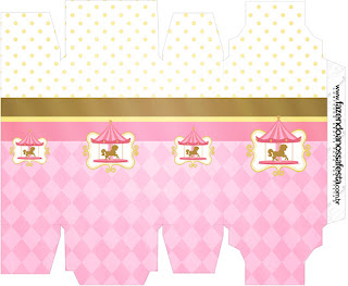 Carousel in Pink: Free Printable Boxes.