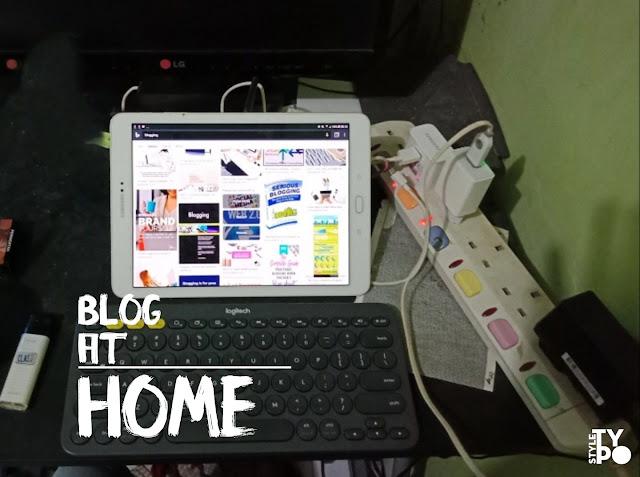 di manfaatkan buat blogging di rumah