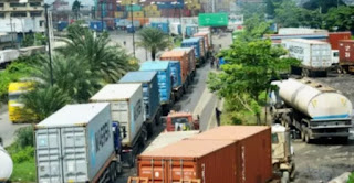 At about 11 containers filled with tramadol,which is worth 240 million  was intercepted by The National Drug Law Enforcement Agency (NDLEA) in Lagos.