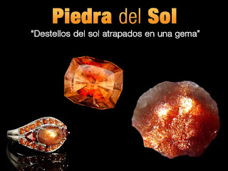 Piedra del sol - foro de minerales