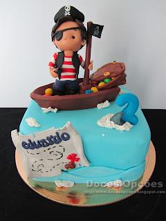 O Eduardo teve um aniversário bem Pirata