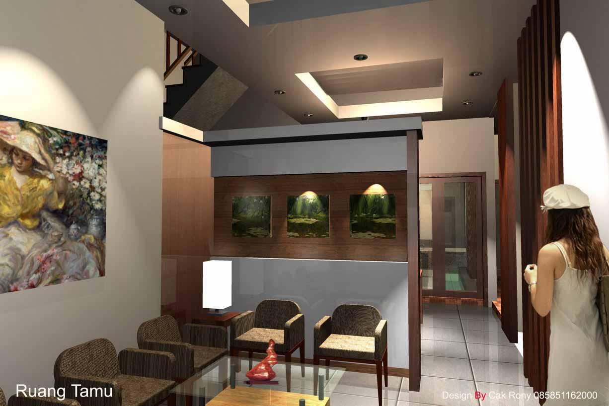 PIRDOT Desain Plafon  Ruang  Tamu  Minimalis  Modern dan Elegan