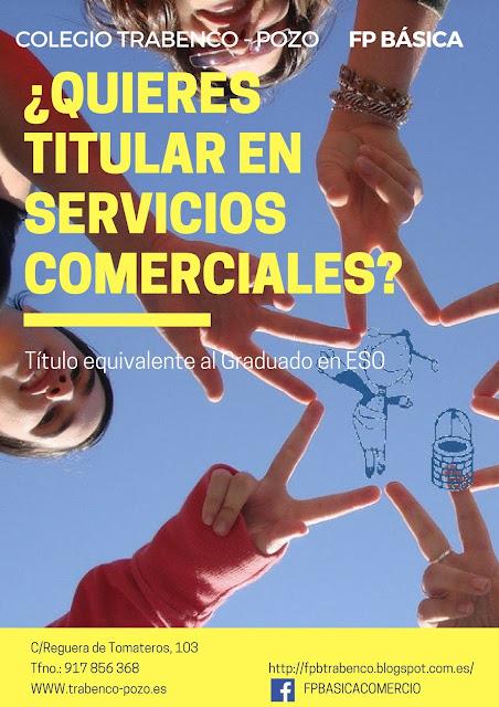 Servicios Comerciales FP Básica Colegio TRABENCO