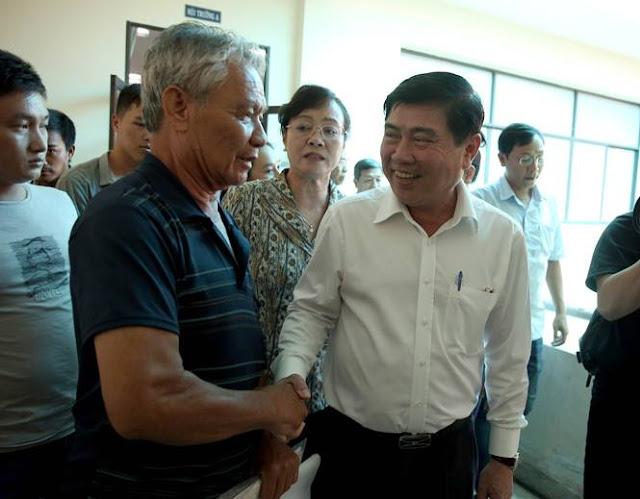 Ông Nguyễn Thành Phong nói gì khi tiếp dân Thủ Thiêm? ảnh 2