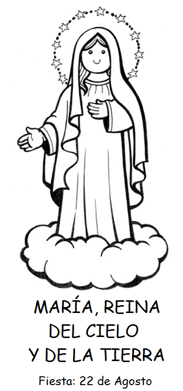 22 de agosto: SANTA MARÍA REINA ~ Catequesis de la